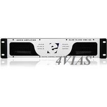 Amplificador De Potencia Etelj Slim 8000vmc G2 8000w Rms