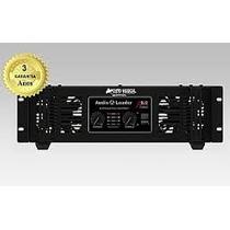 Amplificador Potencia Audio Leader 8.0 8000 Promocao 2015