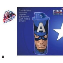Vazilha Tupperware Copo Capitao America470ml