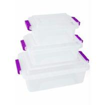 Tupperware Tapoer Pote / Caixa Organizadora - Transparente