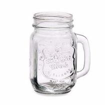 Copo/jarra/pote Vidro Mason Jar 500ml Ice Cold Transparente