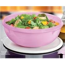 Saladeira Rosa Tupperware - 6,5l