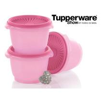 Tupperware Tigela Sensação Rosa Bebê 600ml