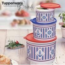 Tupperware - Conjunto Tupper Caixas Marinheiro - 3 Pecas