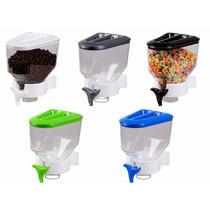 Kit 10 Dispenser Porta Alimentos Cozinha Suporte De Parede