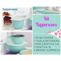 Tupperware Kit Bea Vitrine 1-2016(4 Peças)+brinde