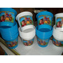 Baldes De Pipoca Personalizados - 2.8 Litros -kit 30 Unidade