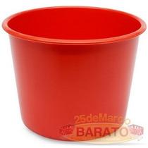 100 Balde Pipoca Vermelho 1 Litro - R$ 0,89un