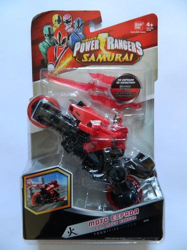 power ranger samurai moto espada ranger vermelho fogo r 54 00 no mercadolivre. Black Bedroom Furniture Sets. Home Design Ideas