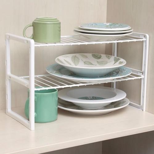 Prateleira aramada dupla arm rio cozinha closet - Organizador armarios ...