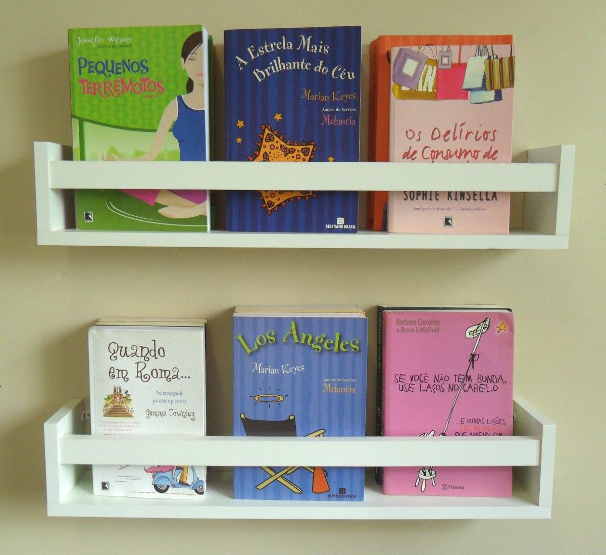 Prateleira Decorativa Livros Infantil U 60 L X 11 5 A X 10 P R$ 49  #73402A 1200x1098