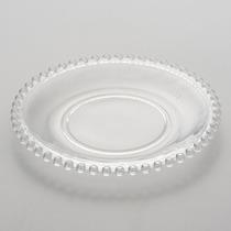 Jogo 8 Pratos Sobremesa Cristal Pearl Perola Wolff 19cm Luxo