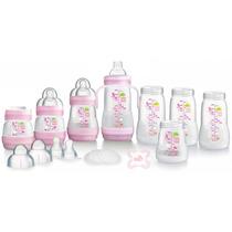 Mamadeiras Mam Anti-cólicas 15 Itens (rosa)