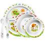 Kit Presente Alimentação Bebê Avent Prato Tigelas Talheres