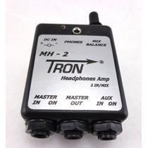 Personal Monitor P/ Fone De Ouvido Tron Mh2