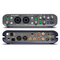 Placa Interface Fast Track P M Audio 4x4 Semi Nova Pouco Uso