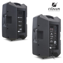 Kit Caixa De Som Frahm Ps15 A Ativa Bluetooth + Passiva 600w