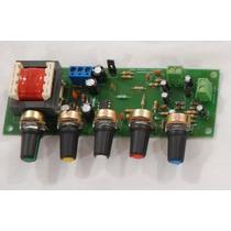 Pré-amplificador De Audio C/ Controle De Grave Medio E Agudo