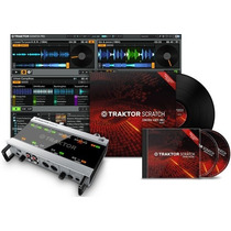 Interface De Audio Time Code Traktor Scratch Audio 10 Ni