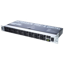 Pre Amplificador Behringer Ada8000 Ultragain Pro-8 Adat