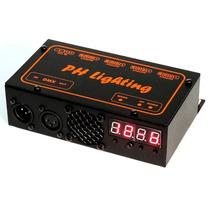 Controlador Dmx 4 X 2 Fitas Led Rgb 12 Canais Strobo Fade