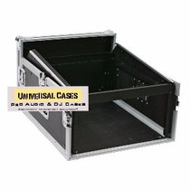 Road Case Rack 6u E Mesa De Som