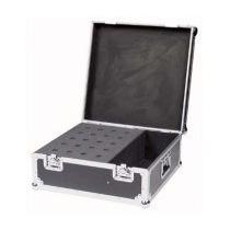 Case Para 20 Microfones + Espaço Acessorios