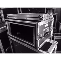 Road Case Rack 4u Amortecimento