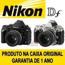 Nikon Df 16.2 Mp Kit Af-s Nikkor 50mm F/1.8g Preta Ou Prata