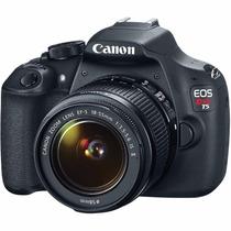 Câmera Canon T5 Eos Rebel C/ Lente Ef-s 18-55mm + Nf