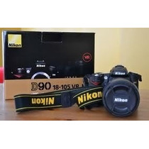 Nikon D90 Kit Lente 18-105 + 32gb De Sd + 2 Bateria + Grimp