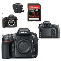 Câmera Nikon D810 Corpo - Full Frame + 32gb C/10+ Bolsa + Nf