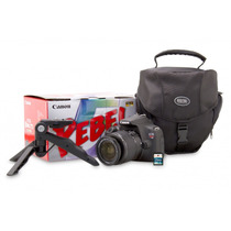 Camera Digital Canon Rebel T5 Lente 18-55m+tripé+8gb+bolsa