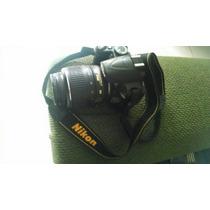 Kit Nikon D3000, Lente Sigma Macro E Tripé Vivitar