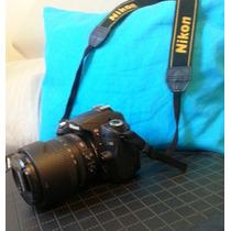 Camera Digital Nikon D90 Com Lente 18/105 Brindes! Retirar