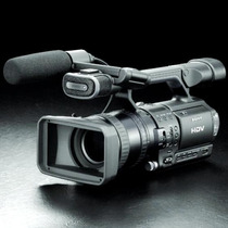Câmera Sony Hvr-z1u 3ccd Profissional Hdv 1080i Zoom De 12x