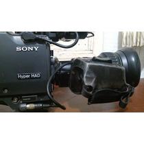 Camera Sony Digital Triax Bvp-750 Com Lente Fujinon