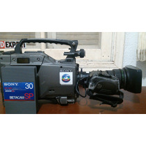 Filmadora Profissional Digital Sony Dnw-9 Betacam