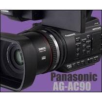 Manual Em Português Da Filmadora Panasonic Ag-ac90 Vol.1 E 2