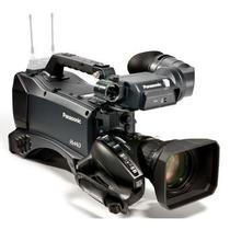 Câmera Filmadora Panasonic Ag-hpx370 P2 Hd Camcorder +maleta