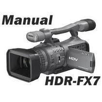 Manual Sony Hdr-fx7 Em Português Completo.