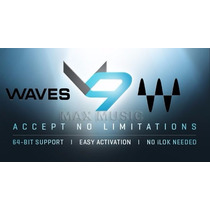 Plugins Waves V9 R27 - Pro Tools 11 E 12 Aax