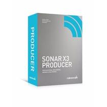 Sonar X3 Completo + Melodyne 3.2 - Envio Imediato..