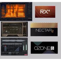 Pacote Vst Mixagem Master Izotop Rx4,nectar 2,ozone 6 E + 3