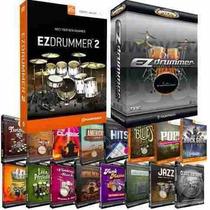 Ezdrummer 1 E 2 + 31 Expansios Full + Updates