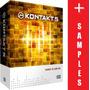 Kit Kontakt 5 + Os Melhores Samples (+ De 40gb + De 10dvds)