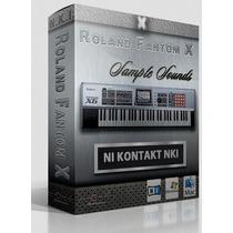 Samples Do Roland Fanton X8 Para Kontakt