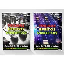 Trilhas Efeitos Vinhetas (+ De 70.000 Arquivos Em 7 Dvds)