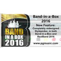 Band In Box 2016 P/windows-realtraacks 1-205-100gb