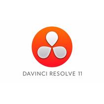 Davinci Resolve 11 + Vídeo Aula Em Inglês